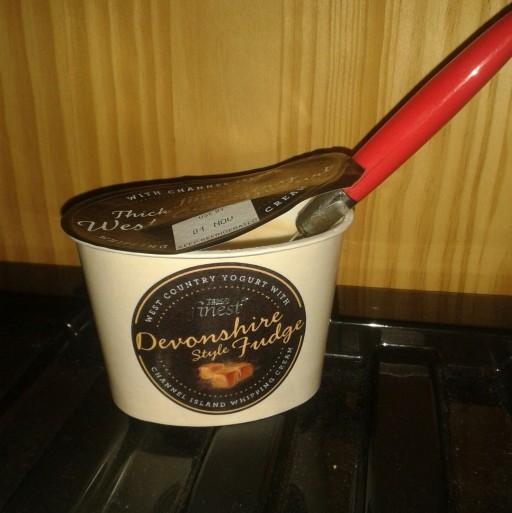 fudge yoghurt