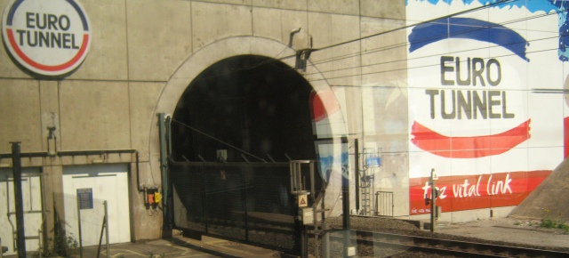 Entrance to Eurotunnel